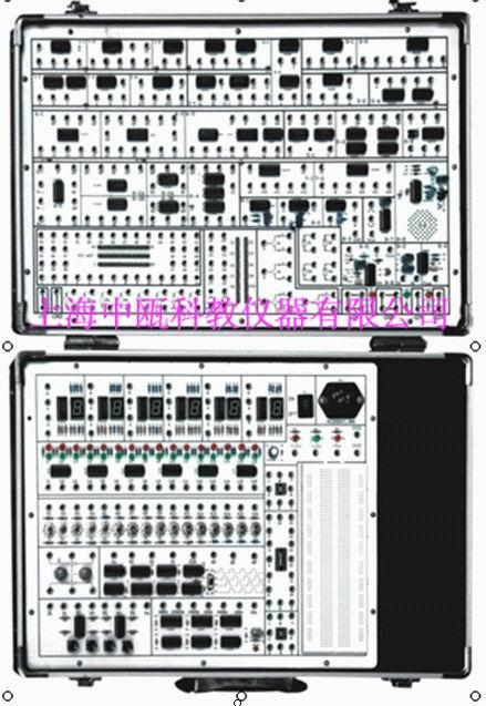 概 述      szj-124型数字逻辑实验箱是专为完成逻辑电路,脉冲电路