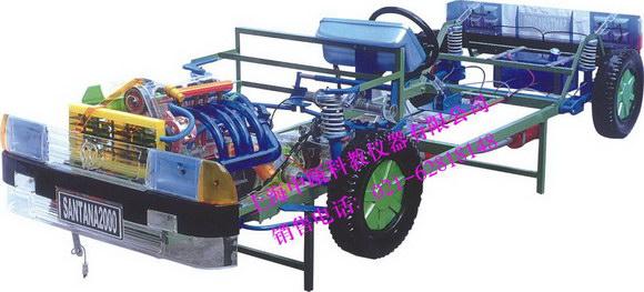 桑塔纳2000型透明整车模型|汽车教学模型-上海中瓯