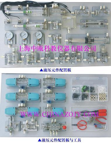 SZJ-3608A型 液压PLC控制实验台(铝槽式,单面)