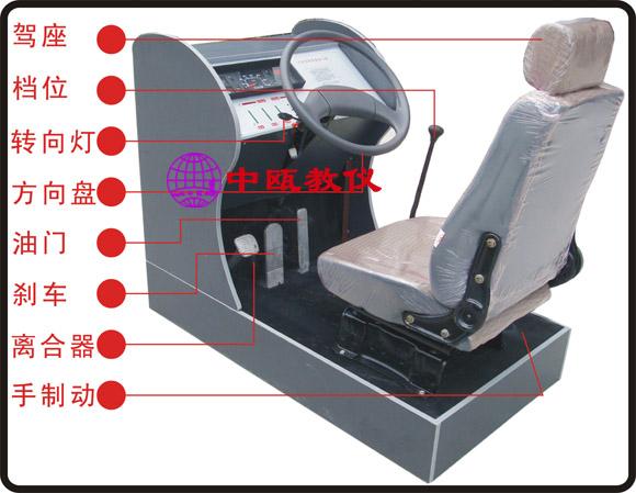 SZJ-Ⅲ型 简易汽车驾驶练习器