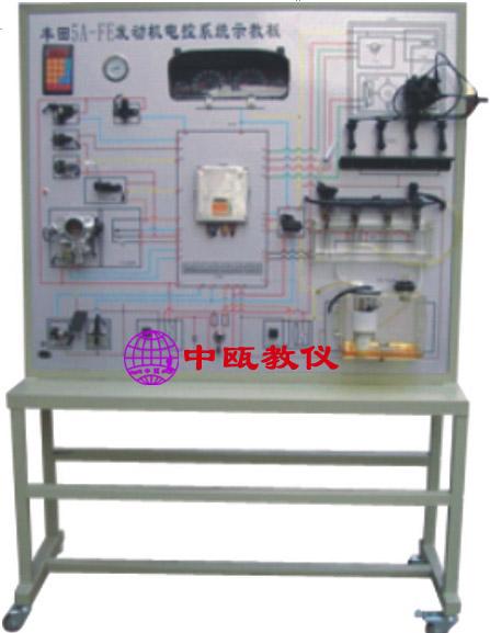 一,功能: 1,中瓯牌发动机电控系统实验台应用原车配件,按照原车位置