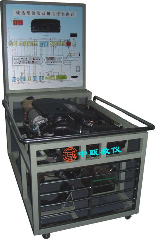 szj-f02,捷达柴油电喷发动机实验台
