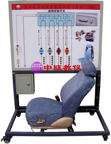 结构组成:        司机侧电动座椅总成与控制