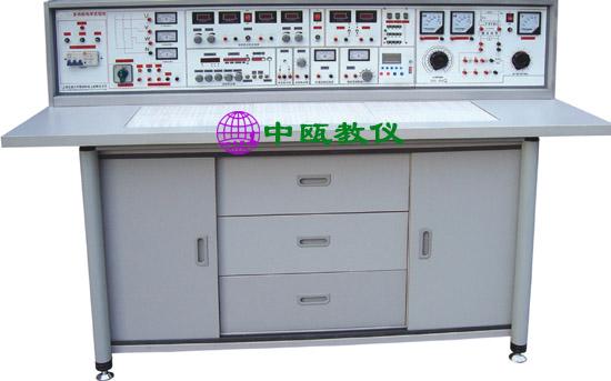 SZJ-204型 电工、模电、数电、电力拖动(带直流电机)实验与技能实训考核实验室成套设备