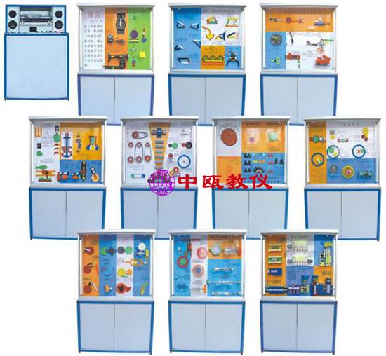 SZJ-CLG-04型 电脑控制《机械基础》陈列柜