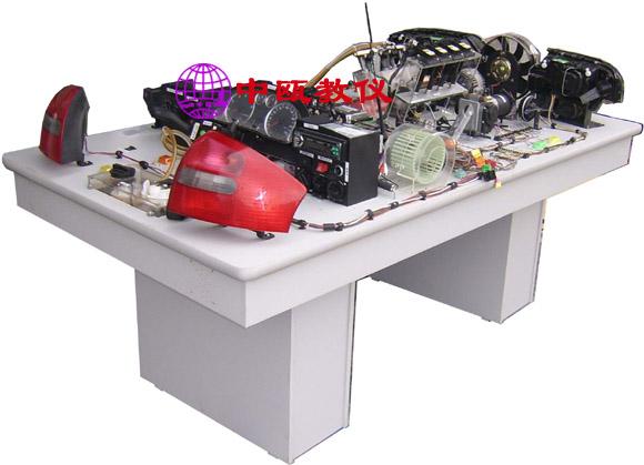 szj-09,奥迪a6型轿车全车电路实习台(含电喷实验系统,真油喷射)
