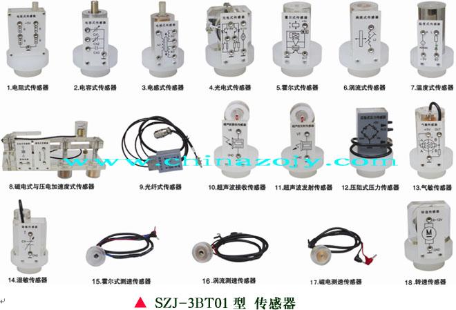 SZJ-3BT01型 检测与转换(传感器)技术实验台