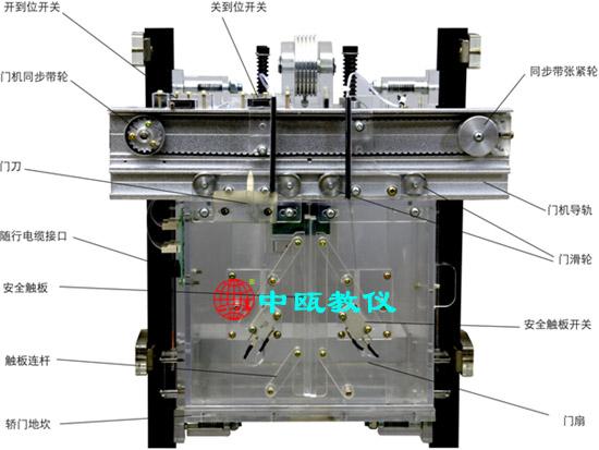 SZJ-208型 单联四层透明仿真教学电梯