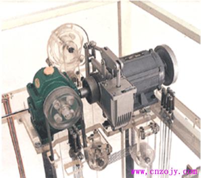 szj-213型 单联四层透明消防仿真教学电梯