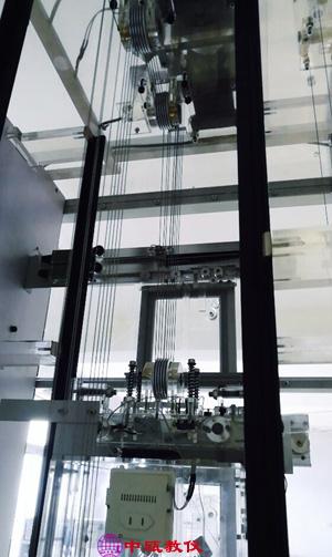 群控六层透明仿真教学电梯