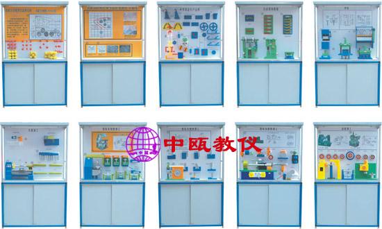 电脑控制《金属工艺学》陈列柜