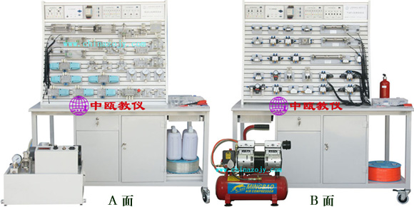 SZJ40YQC-T型 液压气动PLC控制实验台