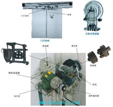 SZJ-210型 双联六层透明仿真教学电梯
