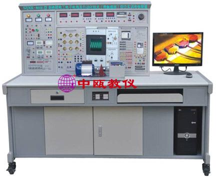 SZJXK-800E型 高性能电工电子电拖及自动化技术(带触摸屏)综合实训考核装置