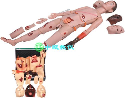 SZJ-BXJ110型 高级创伤模型(带创伤模块)