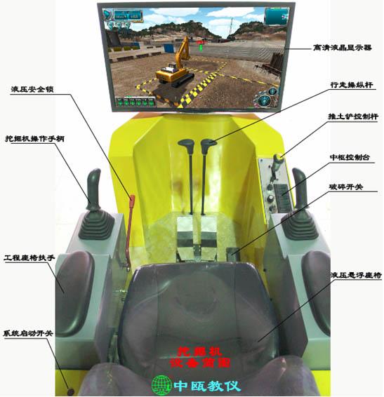 SZJ-1109型 挖掘机模拟教学设备